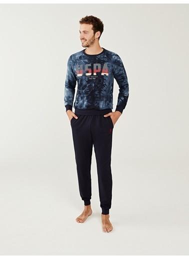 U.S. Polo Assn. Pijama Takım Lacivert